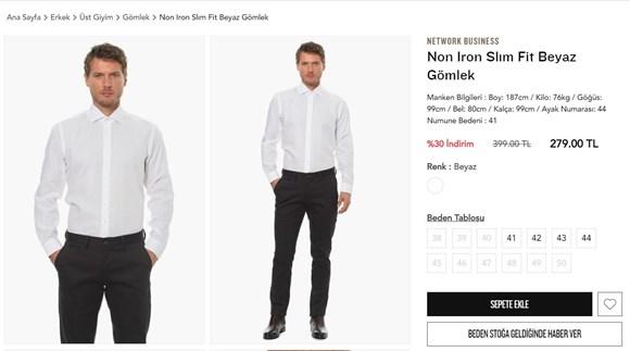 ütü istemeyen gömlek